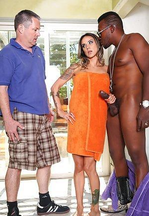 latina pornstar nadia styles slut home in interracial cuckold porn photos