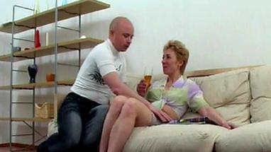 bald pistols makes cooney russian milf and fuck a chick after sucking