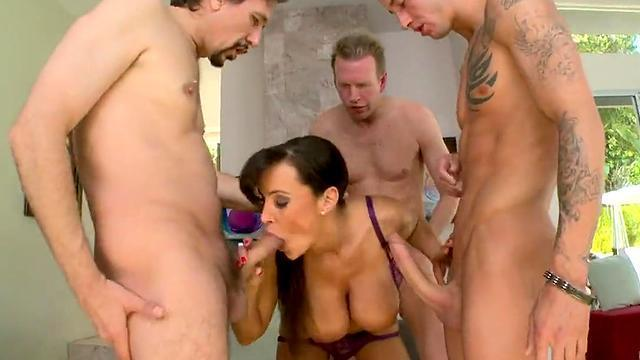 mastadont porn industry, lisa ann gets double penetration