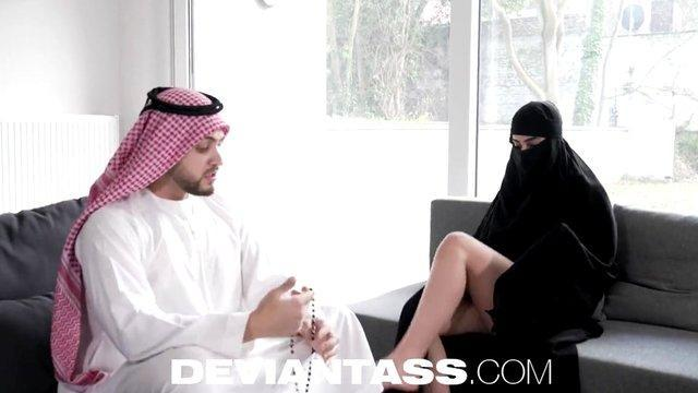 arab emir ordered big tits concubine fucked insatiable